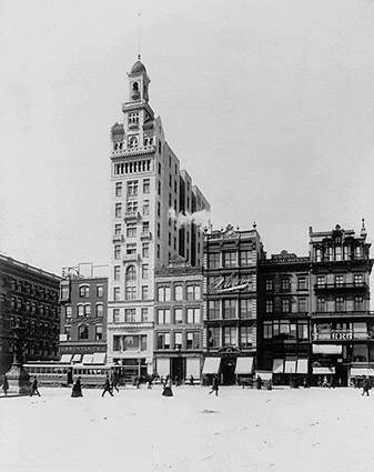 New York City Union Square, Decker Building Photo Print