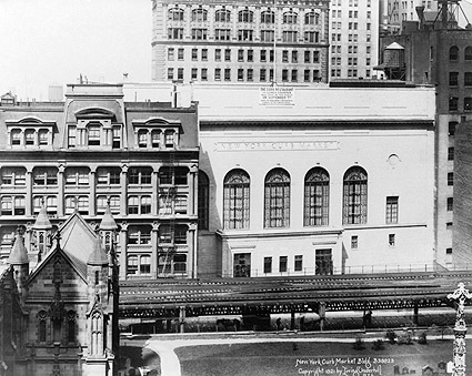 New York Curb Market, New York City 1921 Photo Print