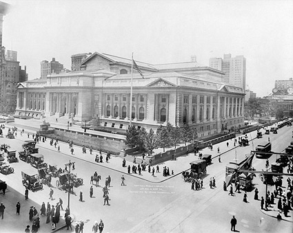 New York Public Library 1914 New York City Photo Print