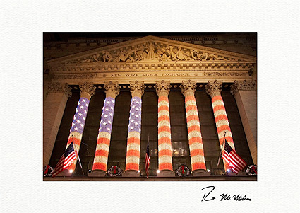 New York Stock Exchange NYC Boxed Christmas Cards