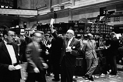 New York Stock Exchange Stock Brokers 1963 Photo Print