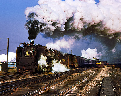 NKP Steam Engine Hudson Type 4-6-4 Train Photo Print