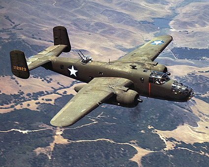 North American Aviations B-25 Bomber Photo Print