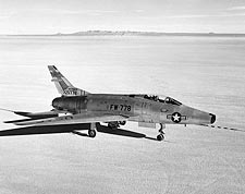 North American F-100 Super Sabre Fighter Jet Photos