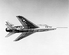 North American F-100 Super Sabre in Flight Photo Print for Sale