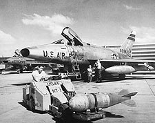 North American F-100 Super Sabre Photo Print for Sale