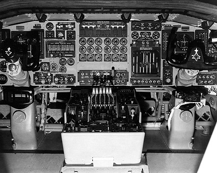 North American XB-70 Cockpit Photo Print