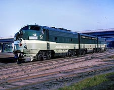 Northern Pacific F-9ABA Railroad Photo Print for Sale