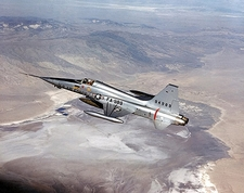 Northrop F-5 Freedom Fighter in Flight Photo Print