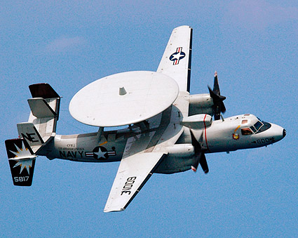 Northrop Grumman E-2C Hawkeye U.S. Navy Aircraft Photo Print