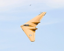 Northrop N-9M-B Flying Wing in Flight Photo Print