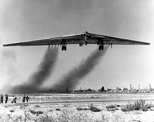 Northrop YB-49 Flying Wing Takeoff Photo Print