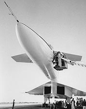 Nose of the XB-70 Valkyrie Bomber Plane Photo Print for Sale