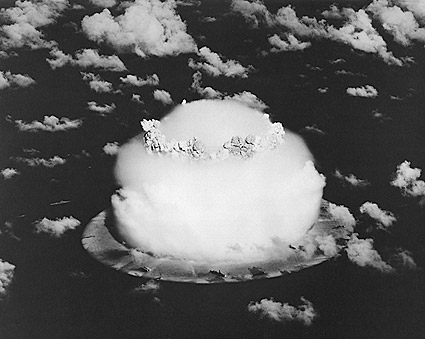 Nuclear Bomb Testing Pacific Cold War 1958 Photo Print