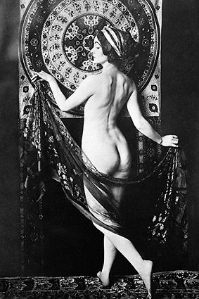 Nude French Dancer Adorée Villany Photo Print