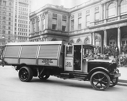 NYC Department of Sanitation Truck 1930s Photo Print