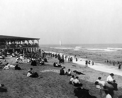 Ocean Grove Beach Pavilion New Jersey 1904 Photo Print