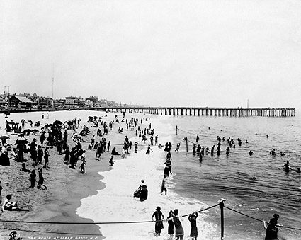 Ocean Grove Seashore Beach New Jersey 1904 Photo Print