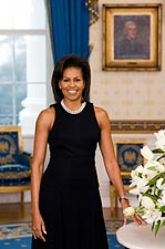 Official White House Portrait of Michelle Obama Photo Print for Sale