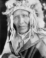 Oglala Sioux Indian Chief Edward S. Curtis Photo Print for Sale