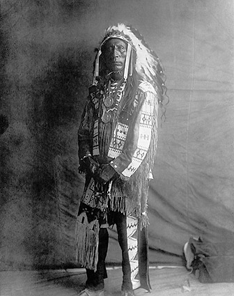 Oglala Sioux Indian Edward S. Curtis Photo Print