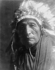 Oglala Sioux Indian Edward S. Curtis Portrait Photo Print