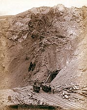 Old West Mine Dakota Railroad 1888 Photo Print for Sale