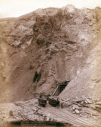 Old West Mine Dakota Railroad 1888 Photo Print