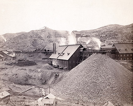 Old West Mining Factory Homestake Works Photo Print