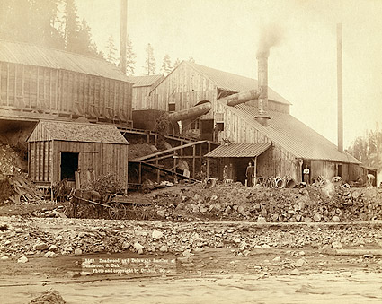 Old West Smelter in Deadwood, South Dakota 1890 Photo Print
