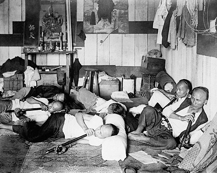 Opium Drug Den Philippines 1924 Photo Print