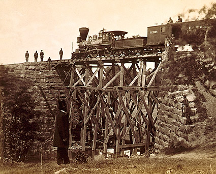 Orange & Alexandria Railroad Bridge, 1865 Photo Print