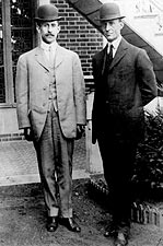 Orville & Wilbur Wright Brothers Potrait 1909 Photo Print for Sale