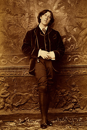 Oscar Wilde Full Length Standing Portrait Photo Print
