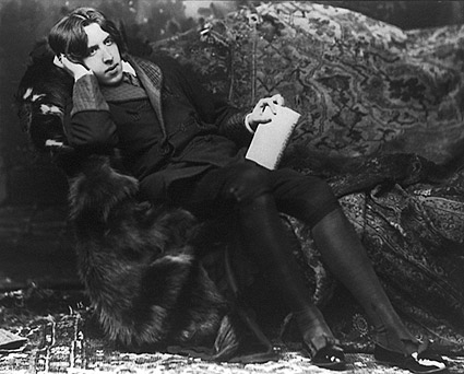 Oscar Wilde Reclining Sarony Portrait Photo Print