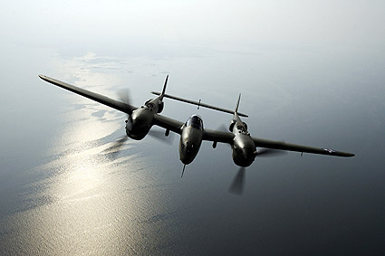 P-38 Lightning Glacier Girl Photo Print