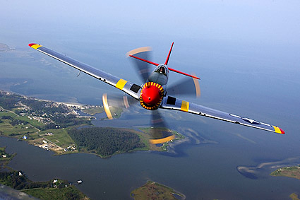 P-51 Mustang Restored WWII Fighter Photo Print
