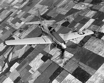 P-51 Mustang WWII Aircraft  Photo Print