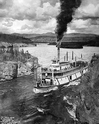 Paddle Wheel Steamer Yukon Territory Alaska Photo Print