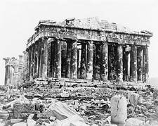 Parthenon Temple of Athena Acropolis Greece Photo Print