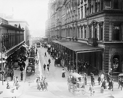 Pedestrians Outside Grand Central Station NYC 1910 Photo Print