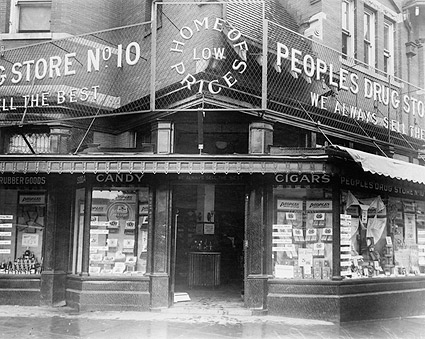 Peoples Drug Store Washington, D.C. 1922 Photo Print
