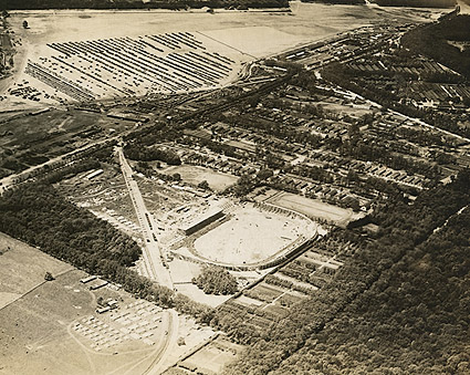 Pershing Stadium in Vincennes, France 1919 Photo Print
