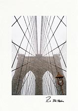 Personalized Brooklyn Bridge Christmas Cards & Brooklyn Bridge Holiday Cards