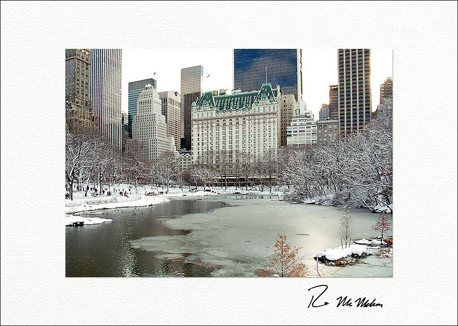 Literary walk central park new york city boxed holiday greeting cards nyc christmas card m4hsunfo