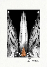 Rockefeller Center Christmas Tree Boxed Holiday Cards