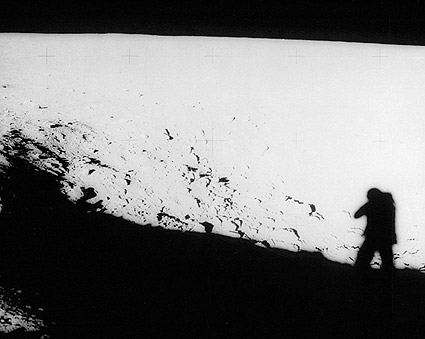 Pete Conrad Apollo 12 Shadow on Moon Photo Print