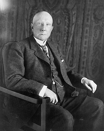 Philanthropist John D. Rockefeller Portrait Photo Print