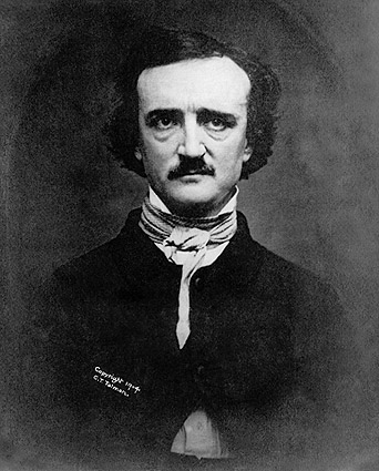 Poet Edgar Allan Poe Portrait 1848 Photo Print