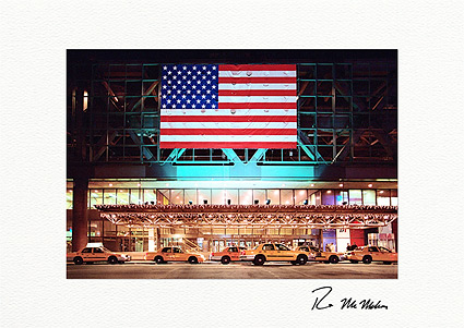 Port Authority Taxi Stand, New York City Photo Boxed Greeting Cards